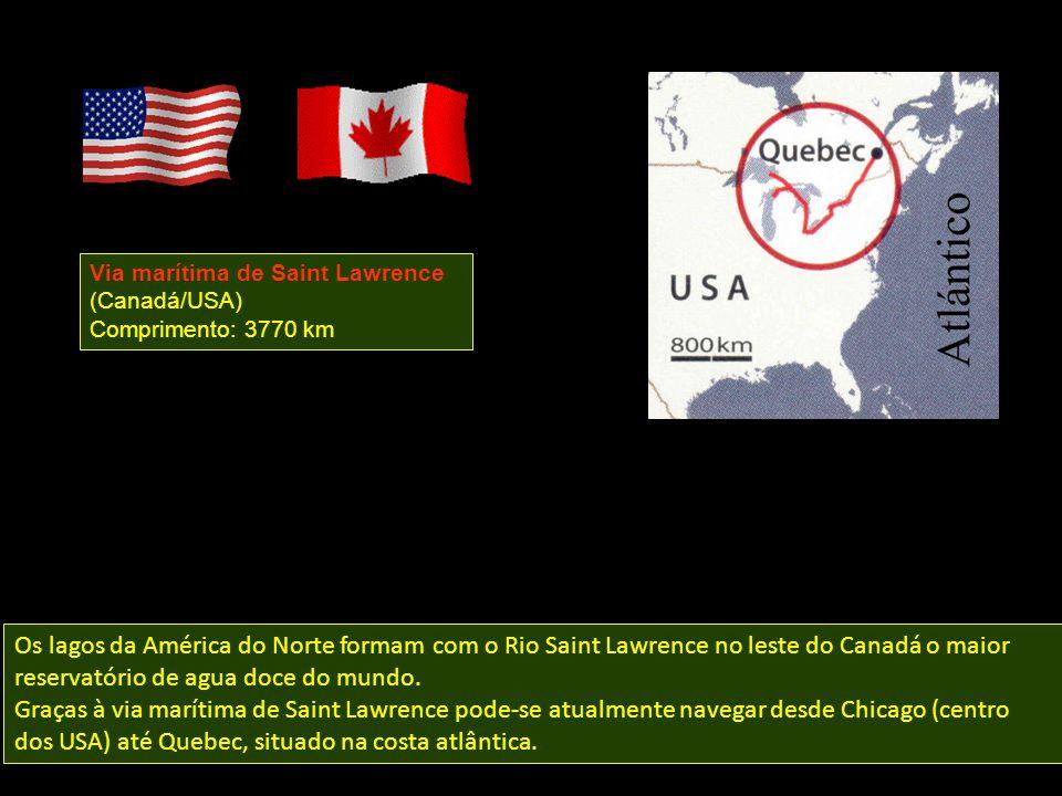 Via marítima de Saint Lawrence (Canadá/USA)