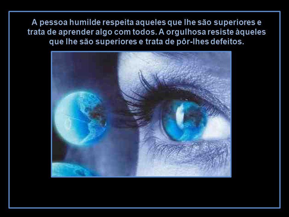 A pessoa humilde respeita aqueles que lhe são superiores e trata de aprender algo com todos.