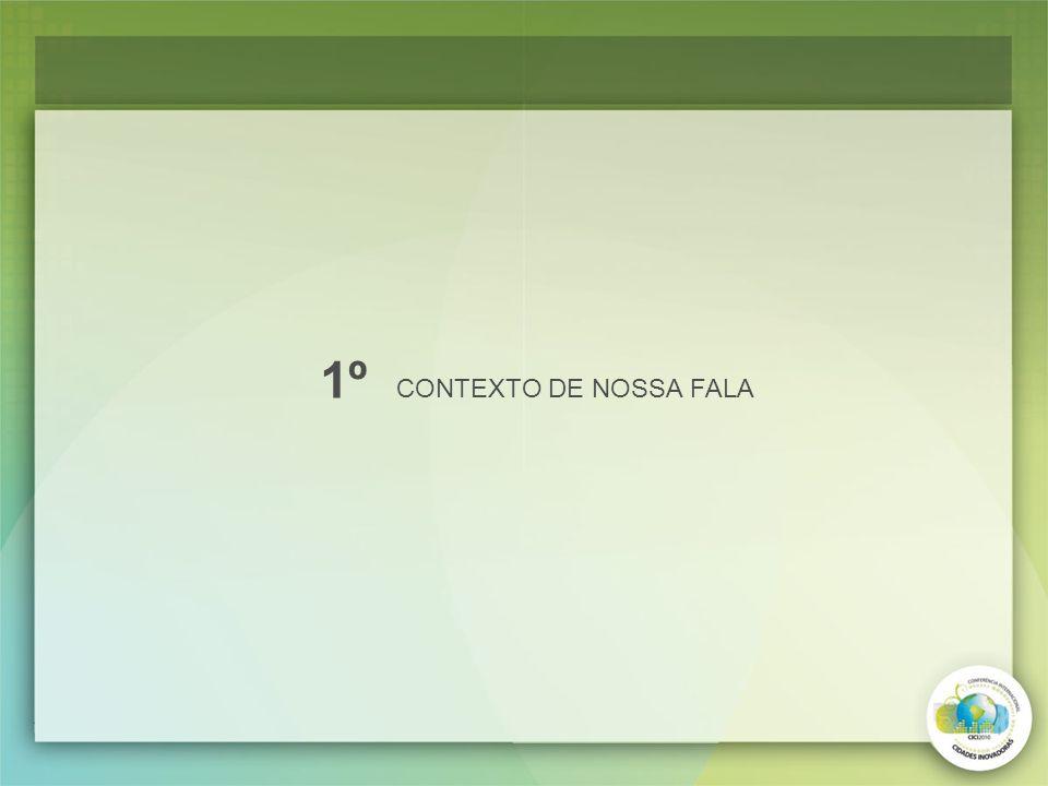 1º CONTEXTO DE NOSSA FALA