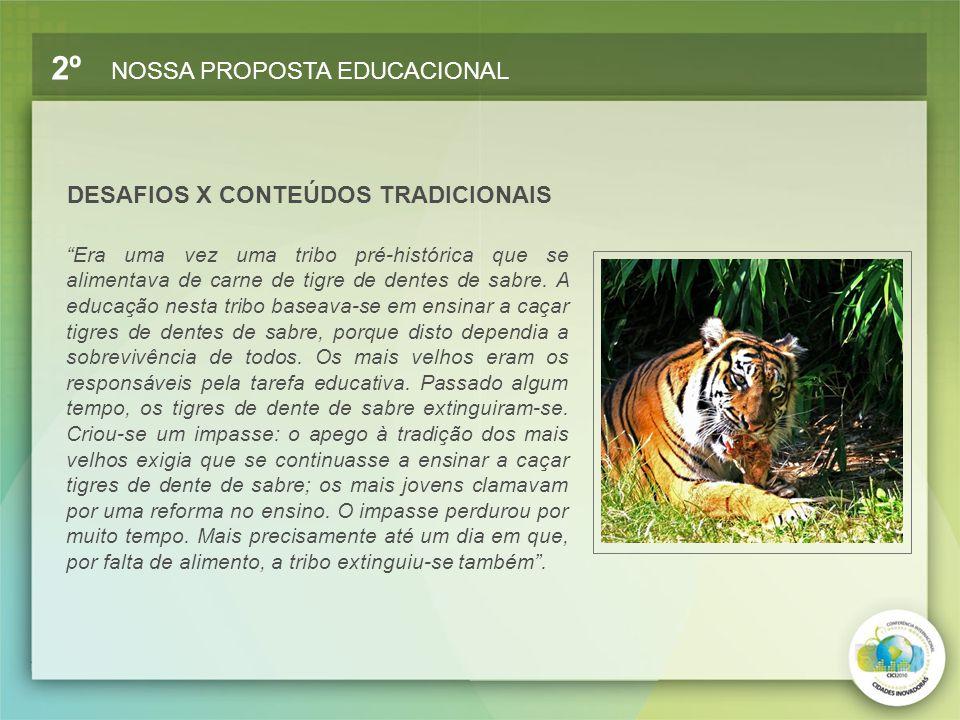 DESAFIOS X CONTEÚDOS TRADICIONAIS