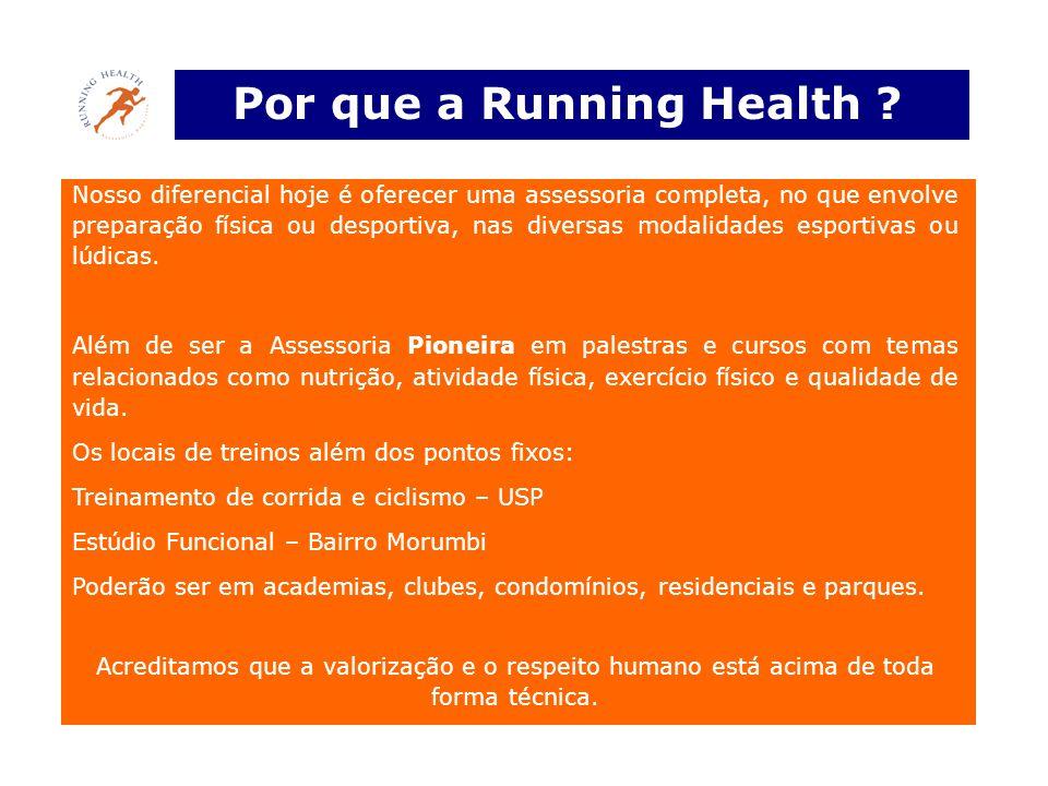 Por que a Running Health