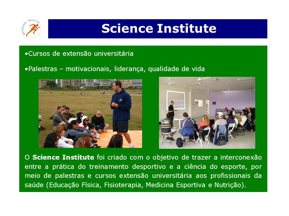 Science Institute Cursos de extensão universitária