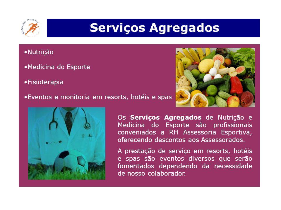 Serviços Agregados Nutrição Medicina do Esporte Fisioterapia