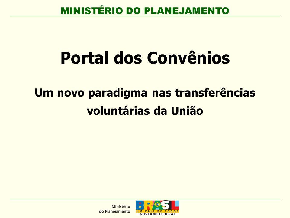 Um novo paradigma nas transferências voluntárias da União