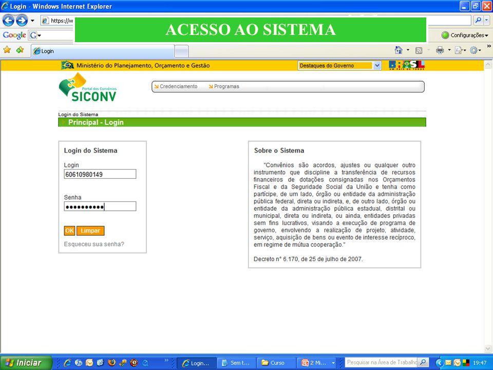 ACESSO AO SISTEMA 38