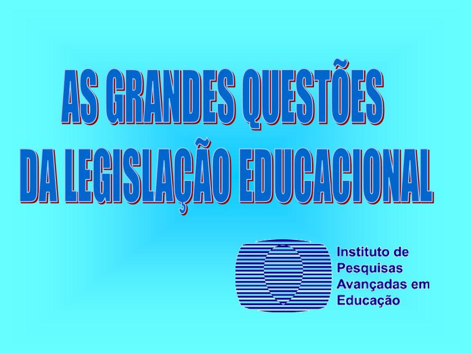DA LEGISLAÇÃO EDUCACIONAL