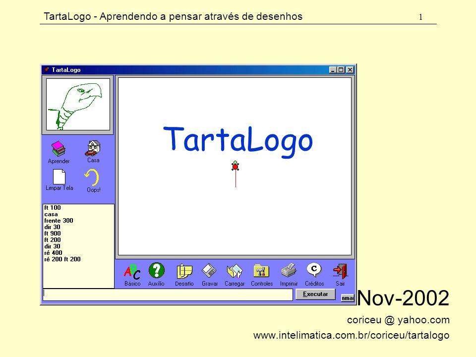 Nov-2002 coriceu @ yahoo.com www.intelimatica.com.br/coriceu/tartalogo