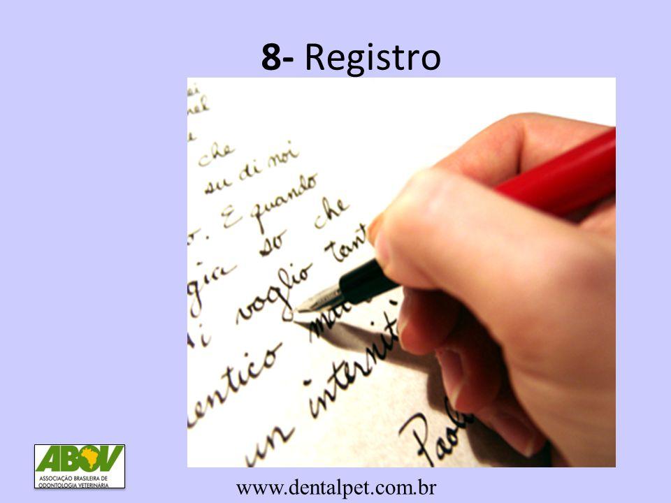 8- Registro www.dentalpet.com.br