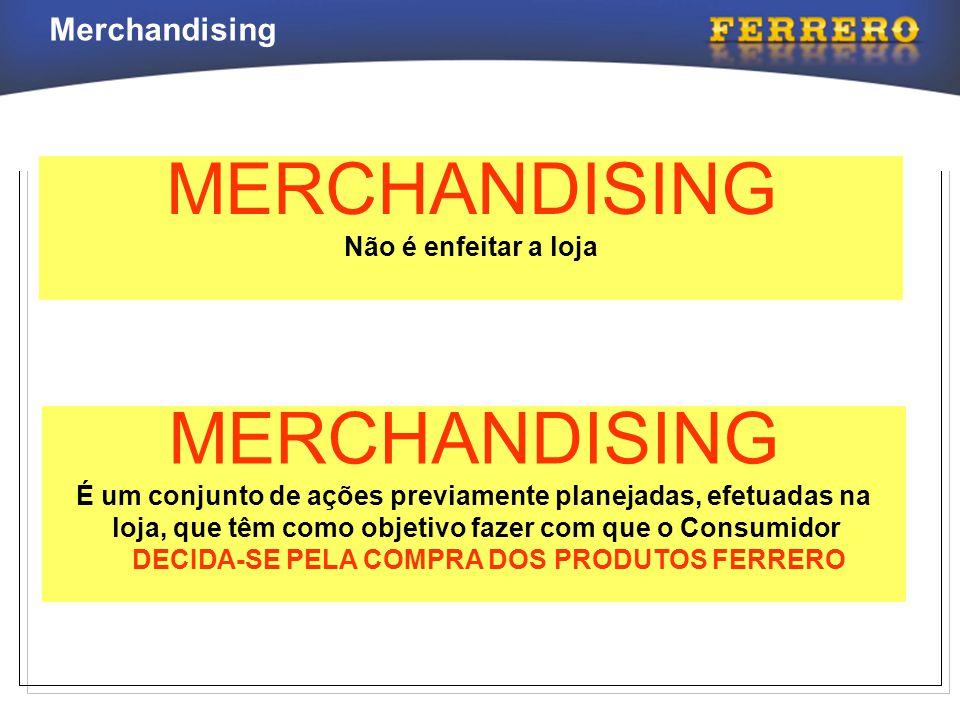 MERCHANDISING MERCHANDISING Não é enfeitar a loja