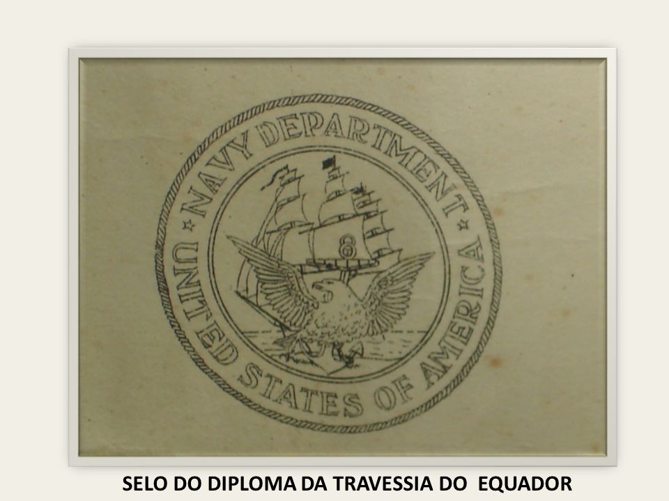 SELO DO DIPLOMA DA TRAVESSIA DO EQUADOR