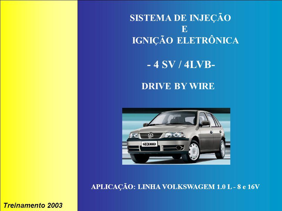- 4 SV / 4LVB- SISTEMA DE INJEÇÃO E IGNIÇÃO ELETRÔNICA DRIVE BY WIRE