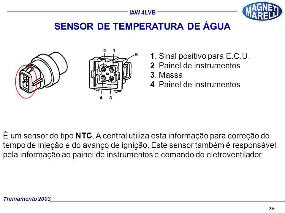 SENSOR DE TEMPERATURA DE ÁGUA