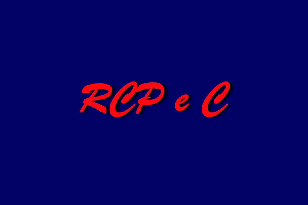 RCP e C
