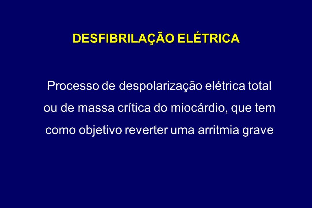 DESFIBRILAÇÃO ELÉTRICA