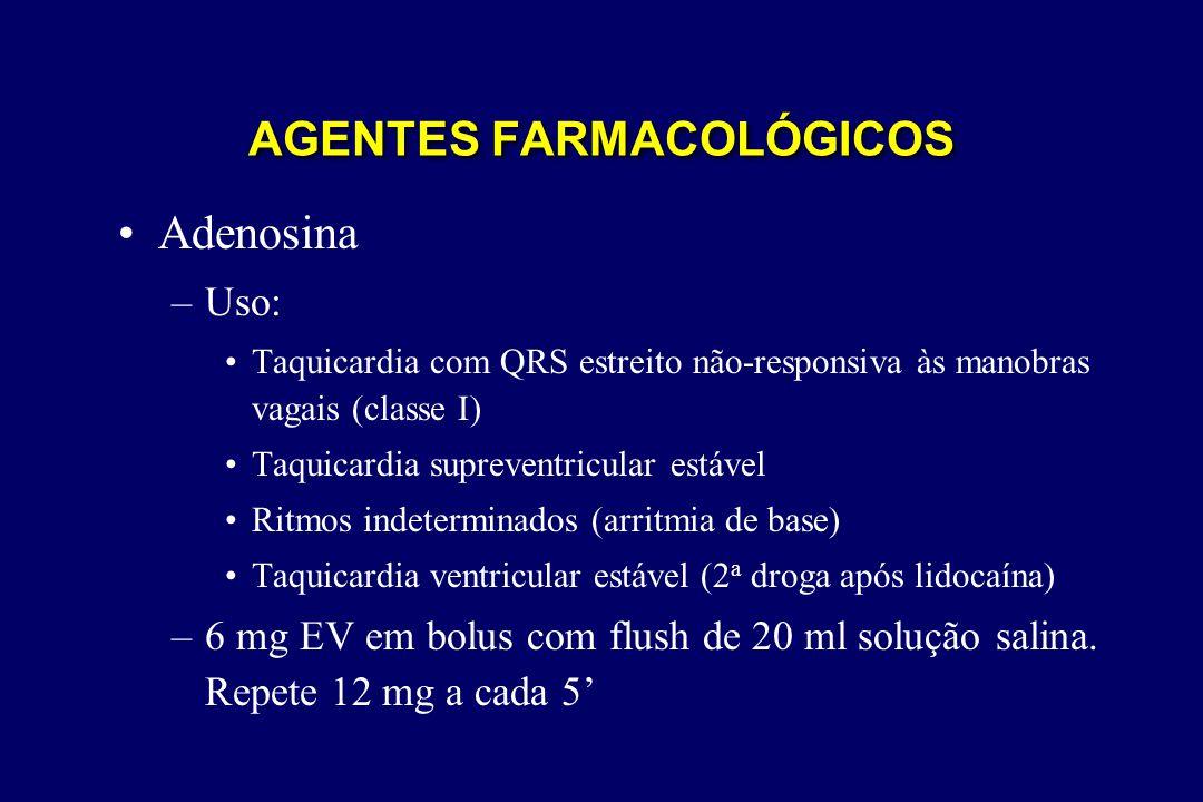 AGENTES FARMACOLÓGICOS