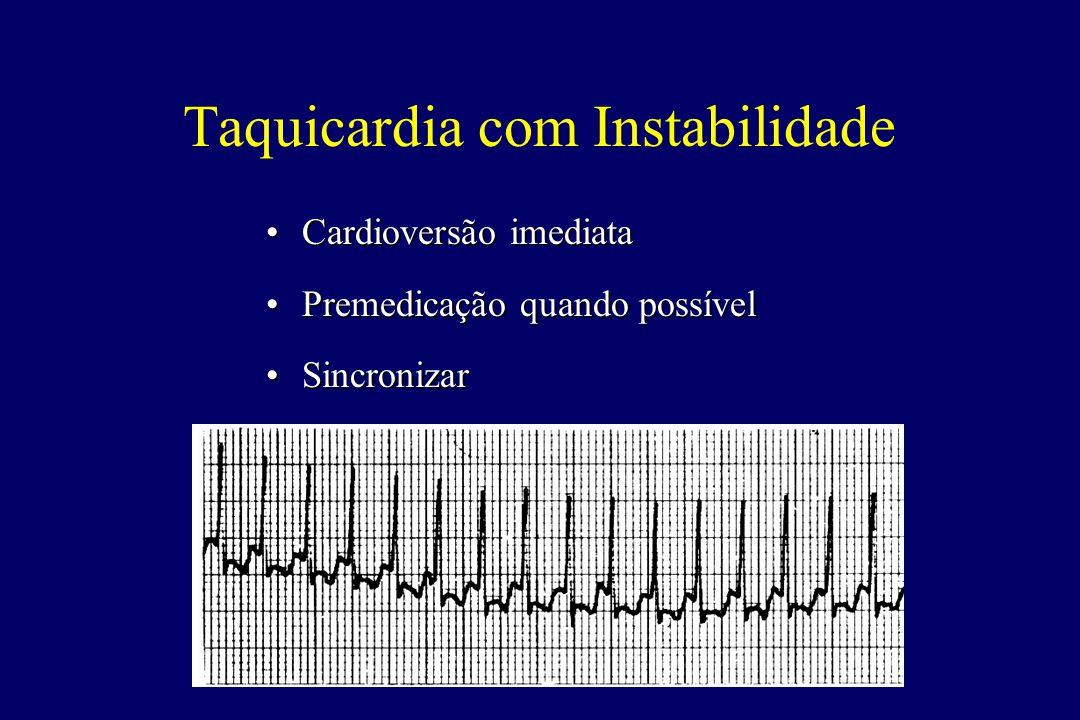 Taquicardia com Instabilidade