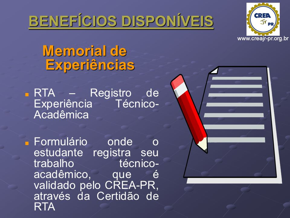 Memorial de Experiências