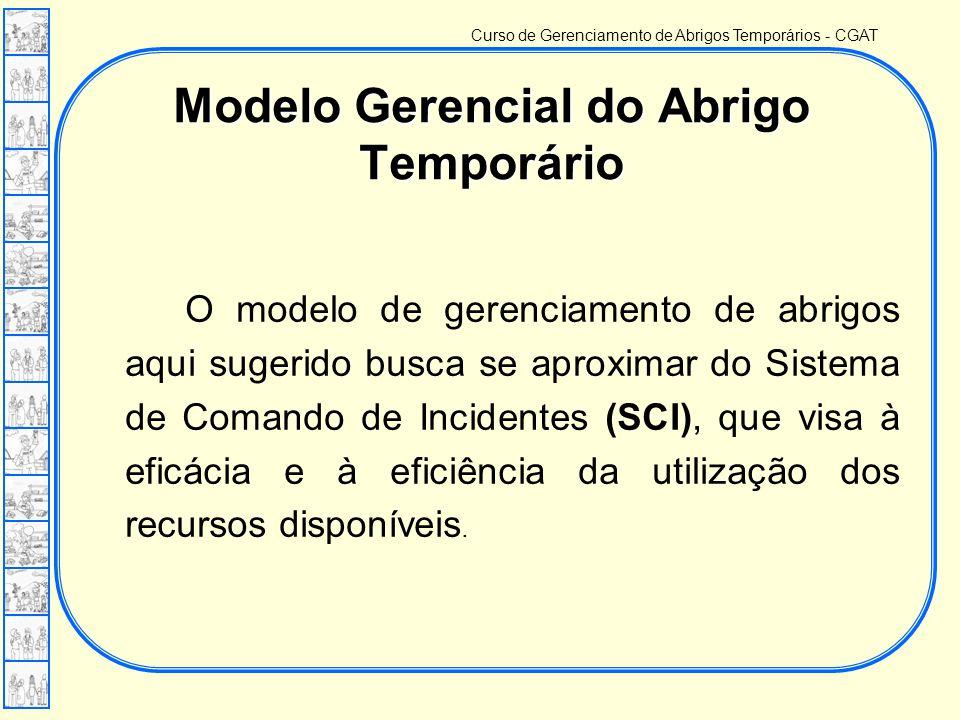 Modelo Gerencial do Abrigo Temporário