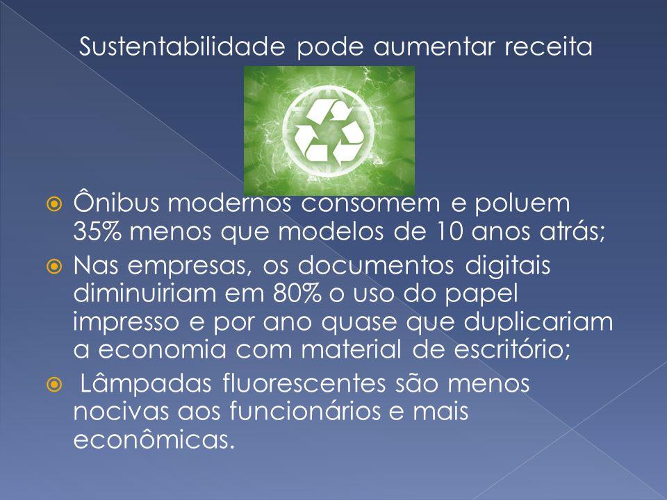 Sustentabilidade pode aumentar receita
