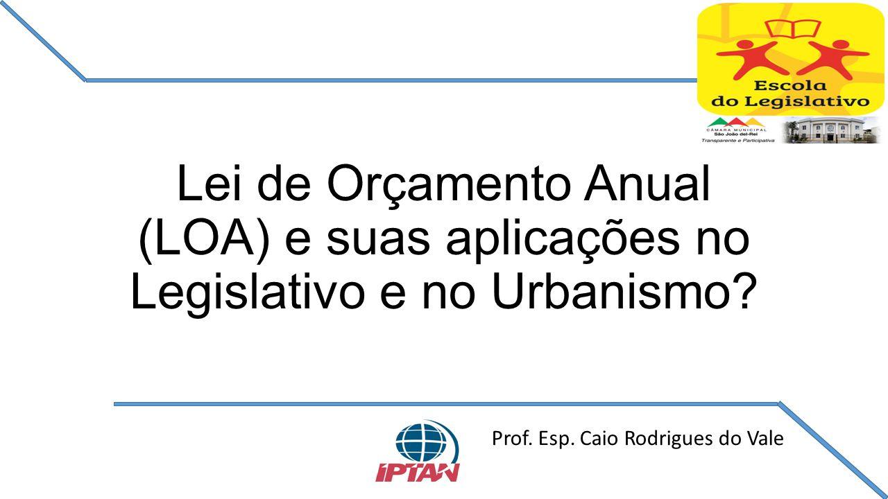 Prof. Esp. Caio Rodrigues do Vale