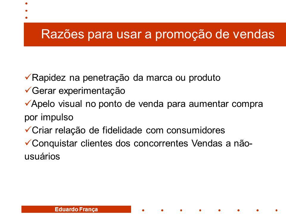 Razões para usar a promoção de vendas