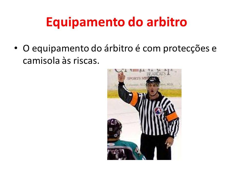 Equipamento do arbitro
