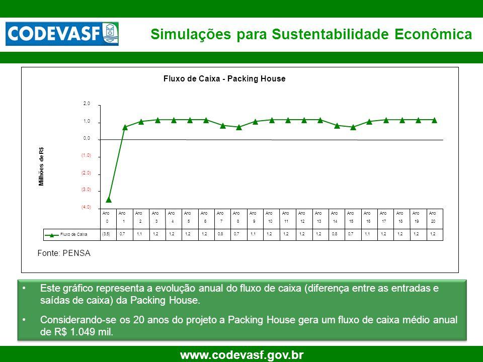 Simulações para Sustentabilidade Econômica