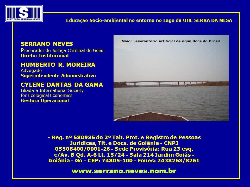 Maior reservatório artificial de água doce do Brasil