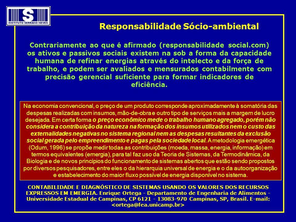 Responsabilidade Sócio-ambiental
