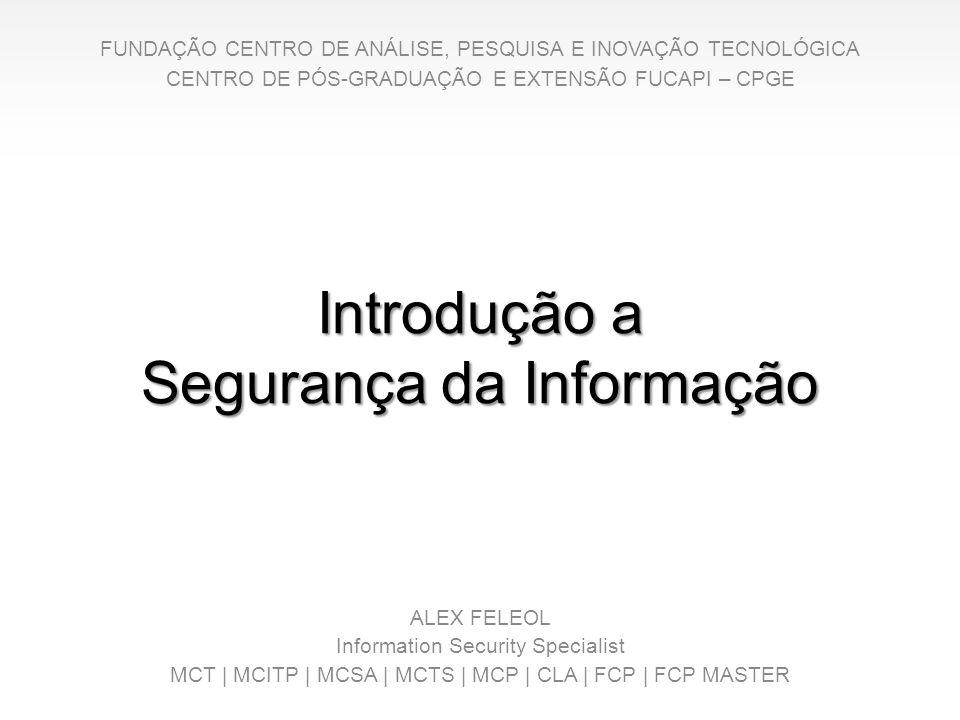 Introdução a Segurança da Informação
