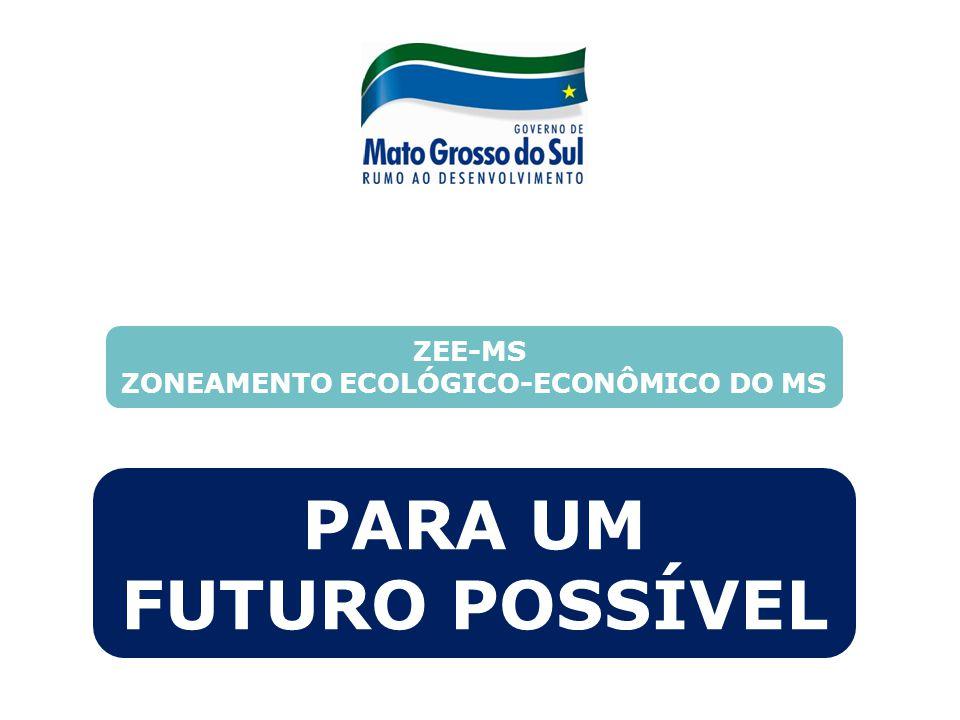 ZONEAMENTO ECOLÓGICO-ECONÔMICO DO MS