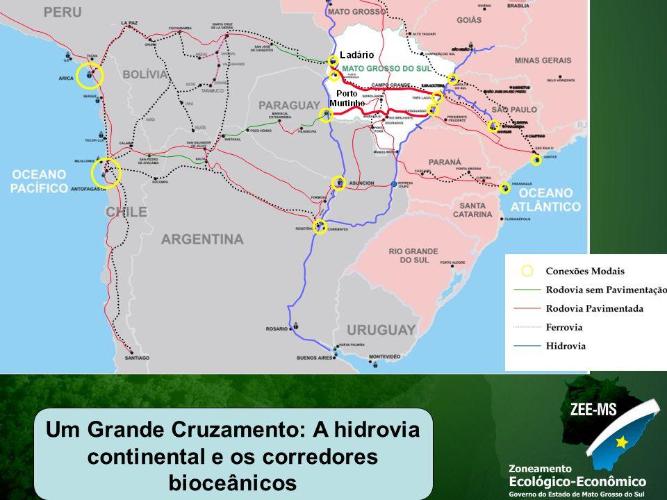 Um Grande Cruzamento: A hidrovia continental e os corredores bioceânicos