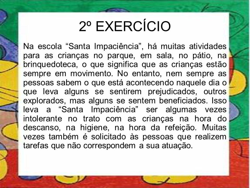 2º EXERCÍCIO