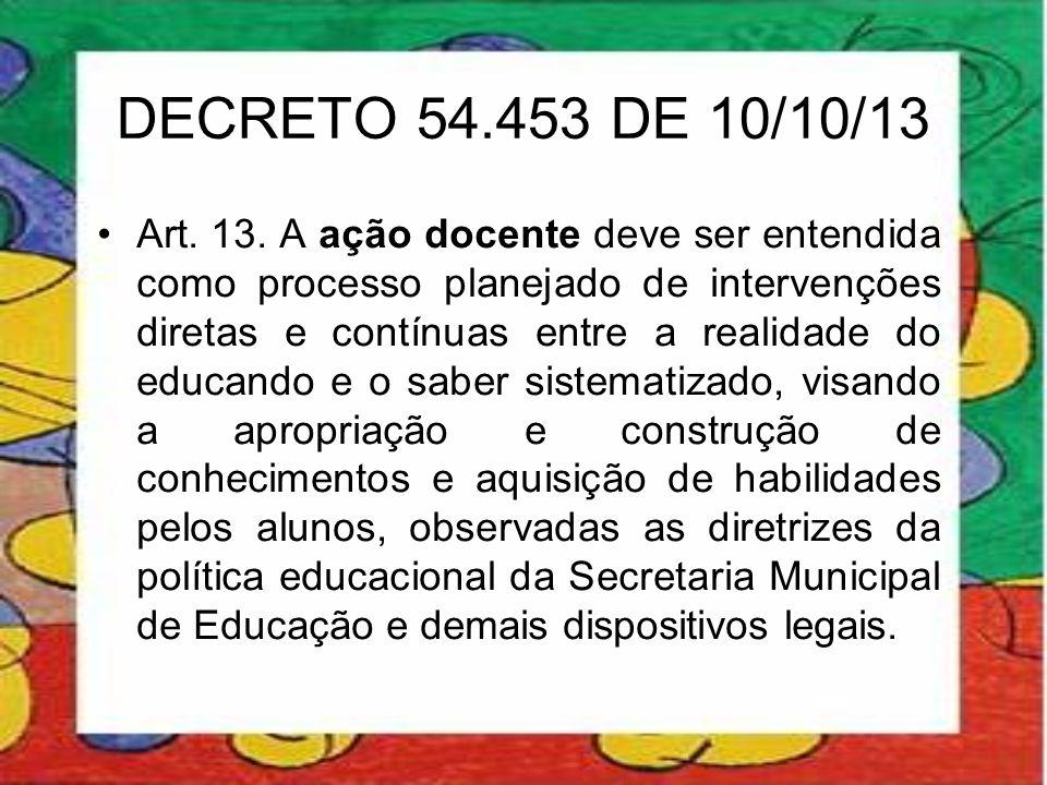 DECRETO 54.453 DE 10/10/13