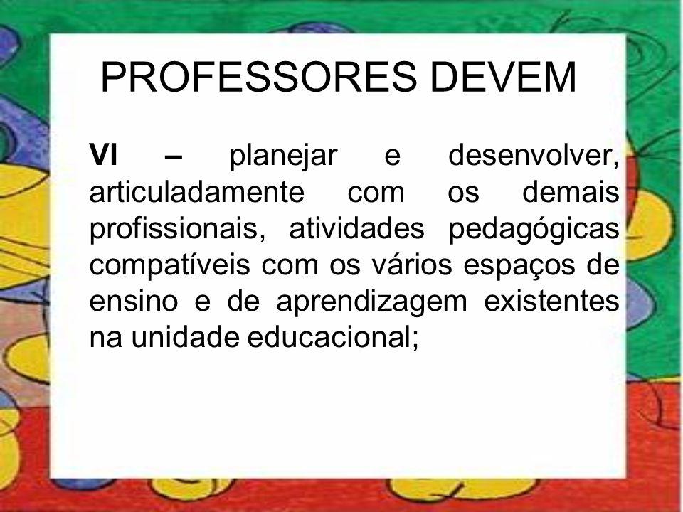 PROFESSORES DEVEM