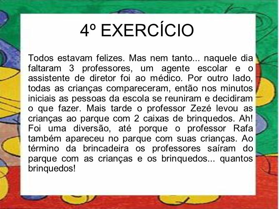 4º EXERCÍCIO