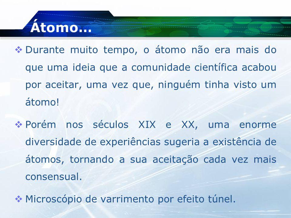 Átomo…