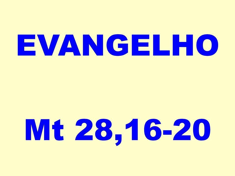 EVANGELHO Mt 28,16-20