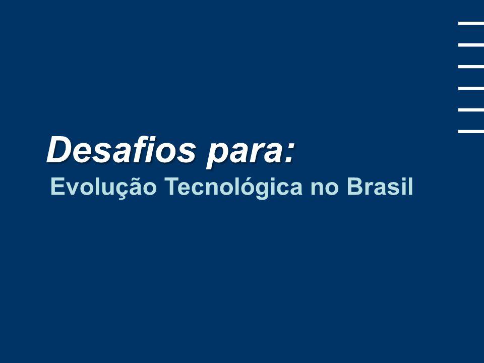 Desafios para: Evolução Tecnológica no Brasil 1