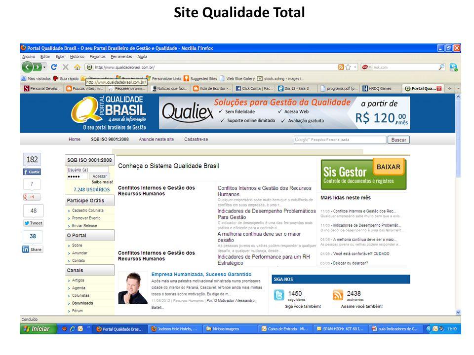 Site Qualidade Total