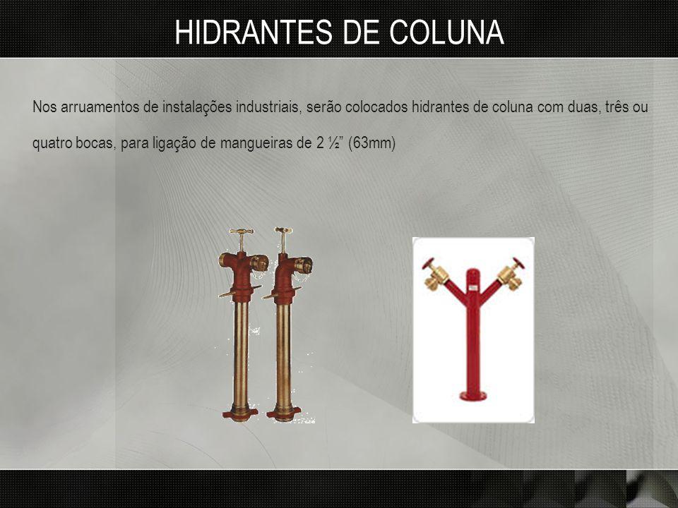 HIDRANTES DE COLUNA