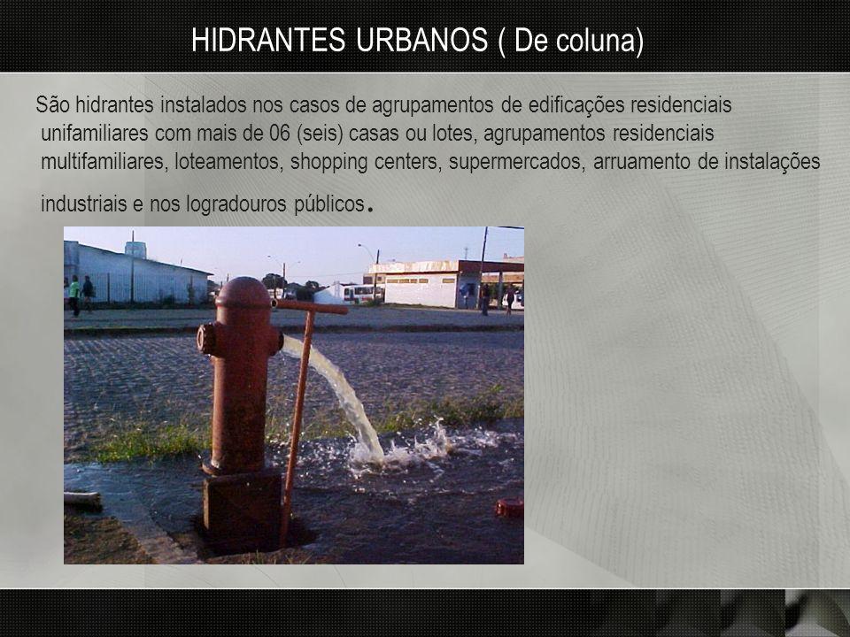 HIDRANTES URBANOS ( De coluna)