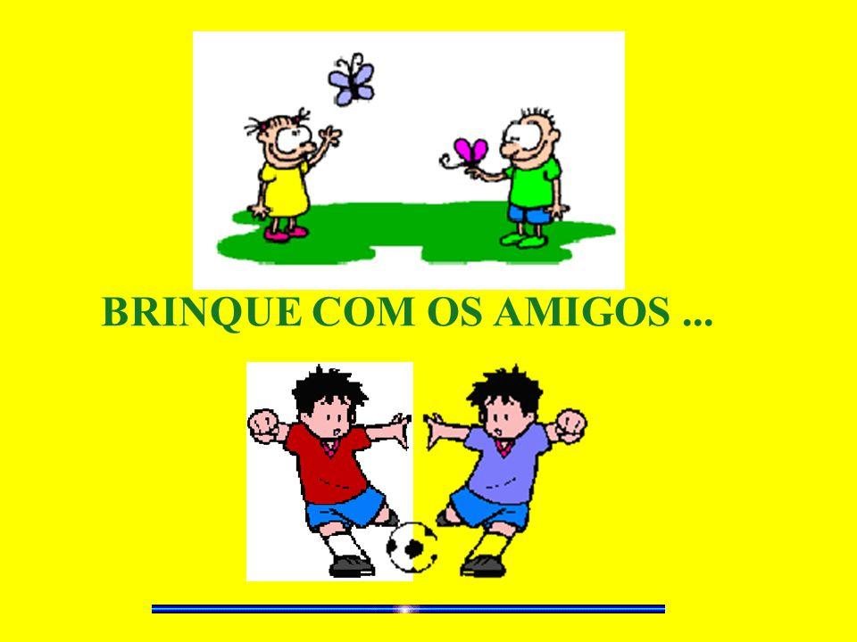 BRINQUE COM OS AMIGOS ...
