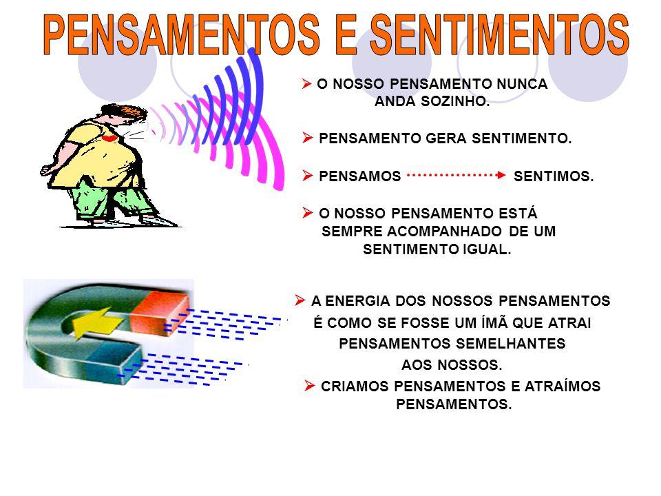 PENSAMENTOS E SENTIMENTOS