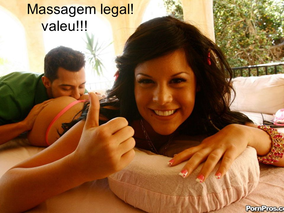 Massagem legal! valeu!!!