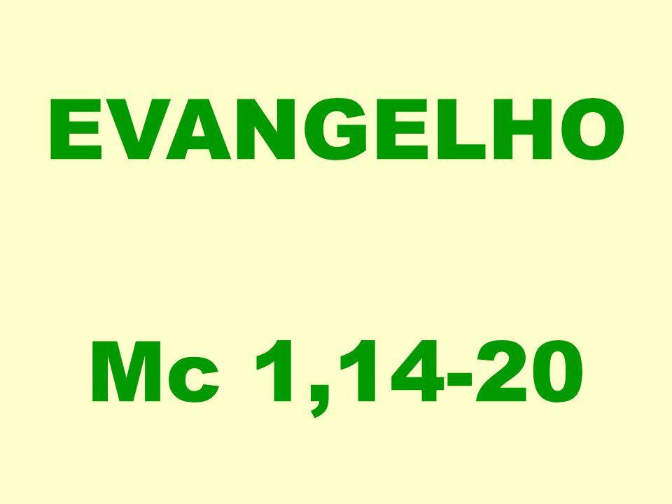 EVANGELHO Mc 1,14-20