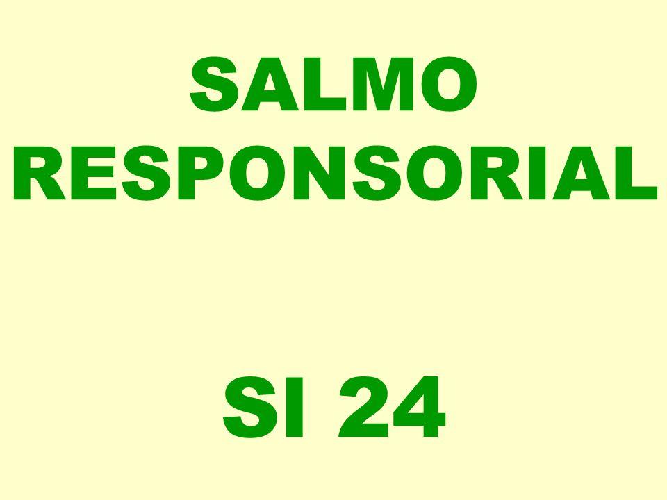 SALMO RESPONSORIAL Sl 24