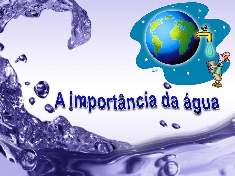 A importância da água Powerpoint Templates