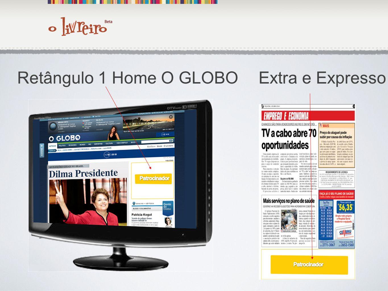 Retângulo 1 Home O GLOBO Extra e Expresso