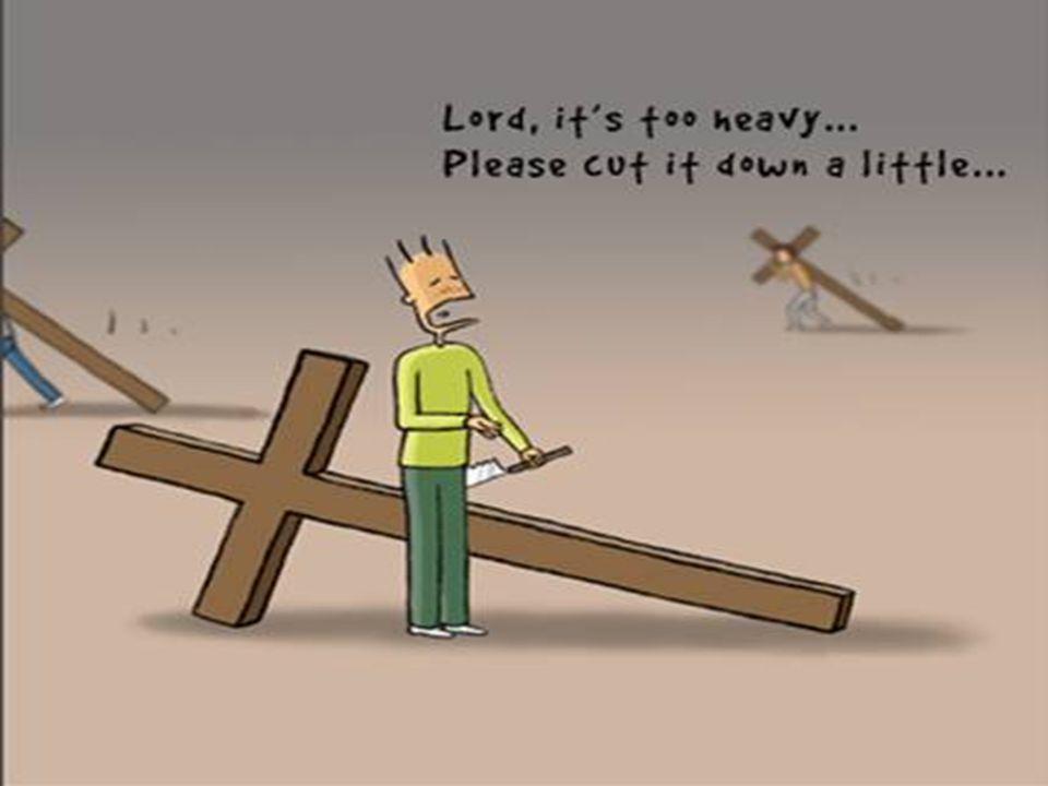 Senhor, isto é muito pesado…